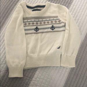 Nautica little girls sweater size 4